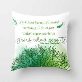 MAYBE SOMEDAY . COLLEEN HOOVER Throw Pillow