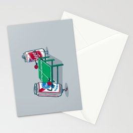 Beer Pong Stationery Cards