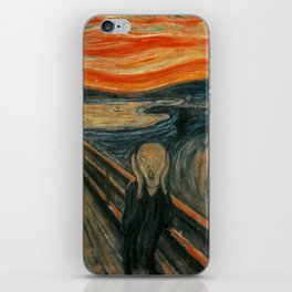 Classic Art - The Scream - Edvard Munch iPhone Skin