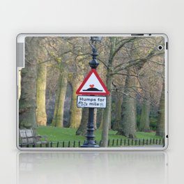humps for 1/2 mile Laptop & iPad Skin