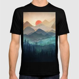 Wilderness Becomes Alive at Night T-shirt