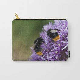 Fighting Bumble Bees Carry-All Pouch