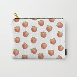 Embroidery Peaches or Butts Carry-All Pouch