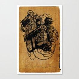 Gospel Machine #1 Canvas Print