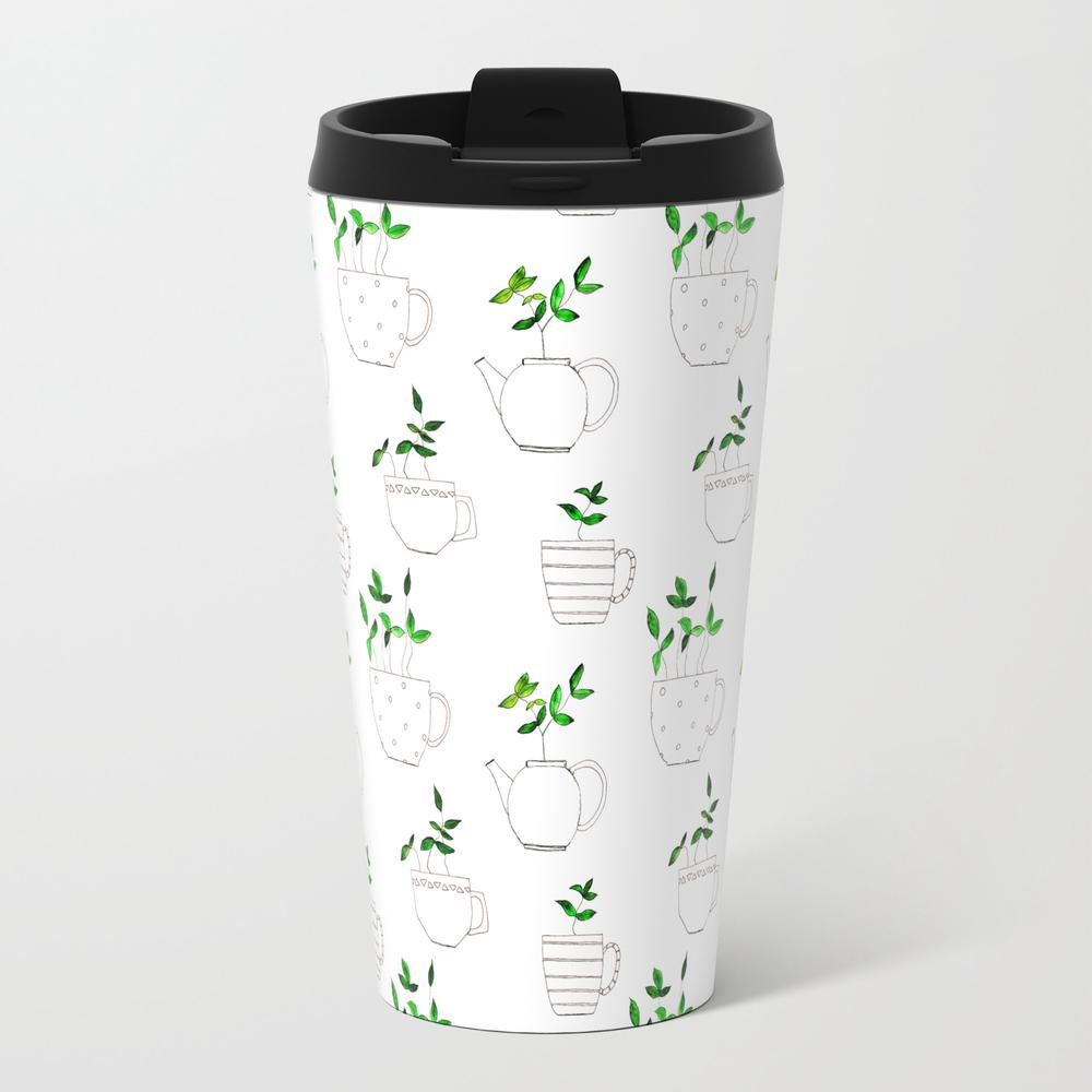 Tea Plants In Tea Cups Travel Mug TRM4007228