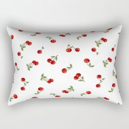 Cherries Rectangular Pillow