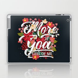 MORE OF GOD Laptop & iPad Skin