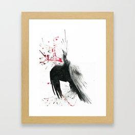 Ravenspray Framed Art Print