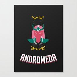 The Saint of the Dark Andromeda Canvas Print