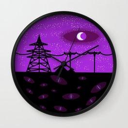 Nightvale Wall Clock
