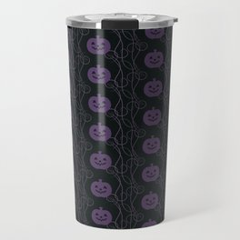Pumpkin Pattern Travel Mug