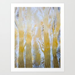 Spring Skye Art Print