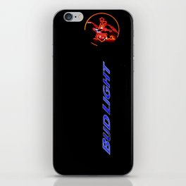 BUD LIGHT SIGN iPhone Skin