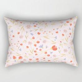 W/LDFLOWERS Rectangular Pillow