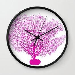 sea fan Wall Clock