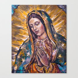 Guadalupe's Virgin Canvas Print