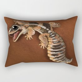 African Fat-Tail Gecko Rectangular Pillow