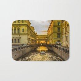 Swan Canal in St. Petersburg Bath Mat