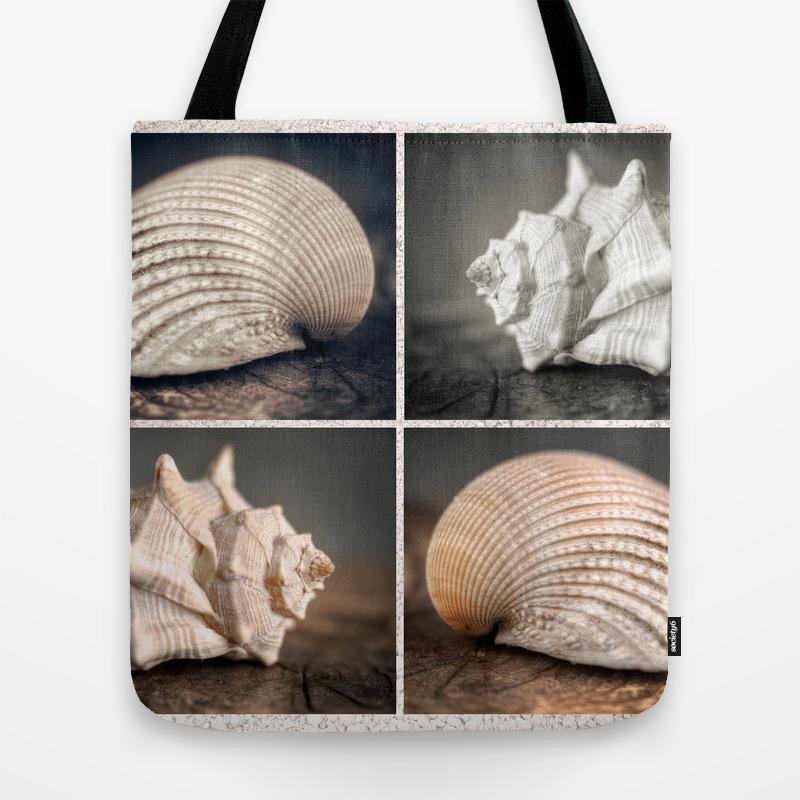 Seashells Travel Tote by Josephoto TBG8749715