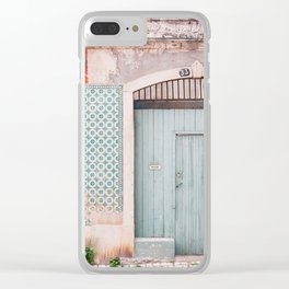 The mint door Clear iPhone Case