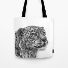Snow Leopard G095 Tote Bag