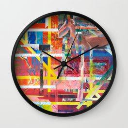 Geometry abstract Wall Clock