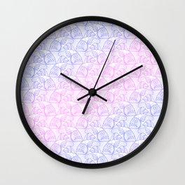 EscherFishes 2 Wall Clock