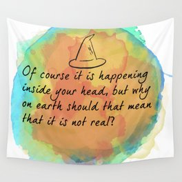 it is happening inside your head Wall Tapestry