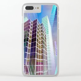 citylines -7- Clear iPhone Case