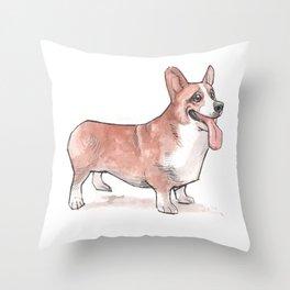 corgi Throw Pillow