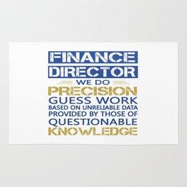 FINANCE DIRECTOR Rug