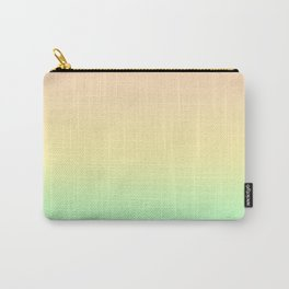 Pastel Rainbow Pattern Carry-All Pouch