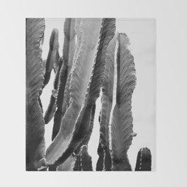 Boho Cactus Throw Blanket