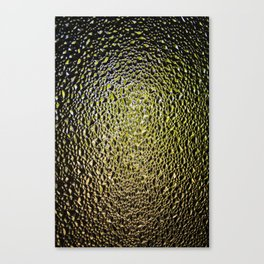 Shattered Green Canvas Print