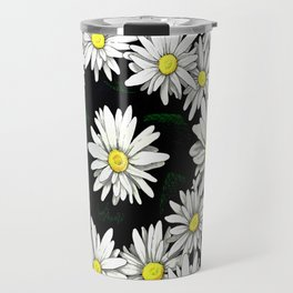 Meredith's Daisies Travel Mug