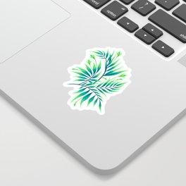 Waikiki Palm - Green Sticker