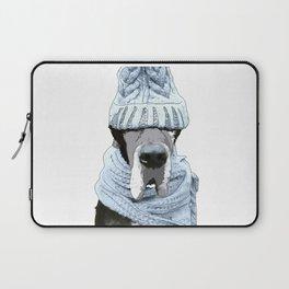 Great Dane Winter is Here Laptop Sleeve