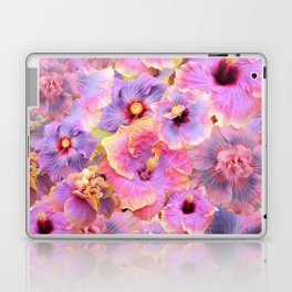 Tropical hibiscus patterns Flower Floral Flowers Laptop & iPad Skin