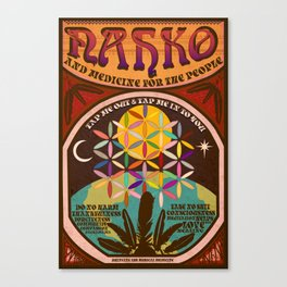 Nahko & Medicine for the People | Fan Made Poster Canvas Print