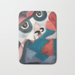 Figurative Art - 1000 FACES: LUV Bath Mat
