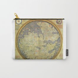 The Fra Mauro World Map Circa 1450 Carry-All Pouch