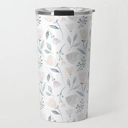 Whimsical Flowers Travel Mug