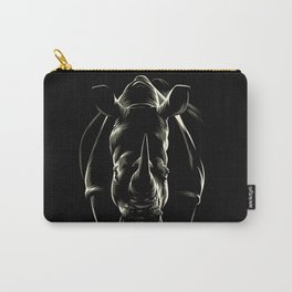 The shadow of the rhinoceros Carry-All Pouch