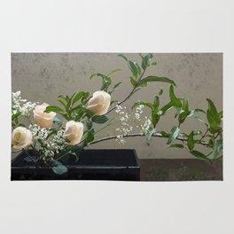 Vanilla Dolce Roses Rug