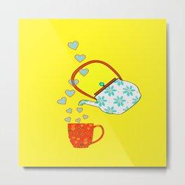 A Nice Cup Of Tea Metal Print