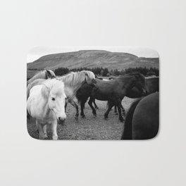 Herd of Horses Bath Mat