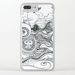 Returning to Wrightsville Beach Clear iPhone Case