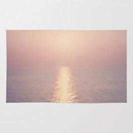 cashmere rose sunset Rug