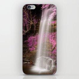 Pink Glencar Falls iPhone Skin