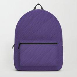 Ultra Violet Wave Pattern Trendy Color 2018 Backpack